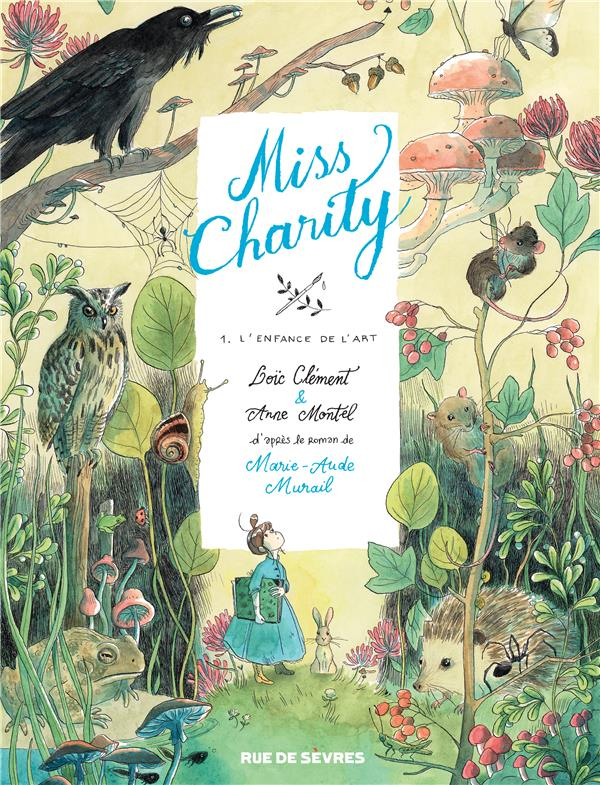 MISS CHARITY T.1  -  L'ENFANCE DE L'ART