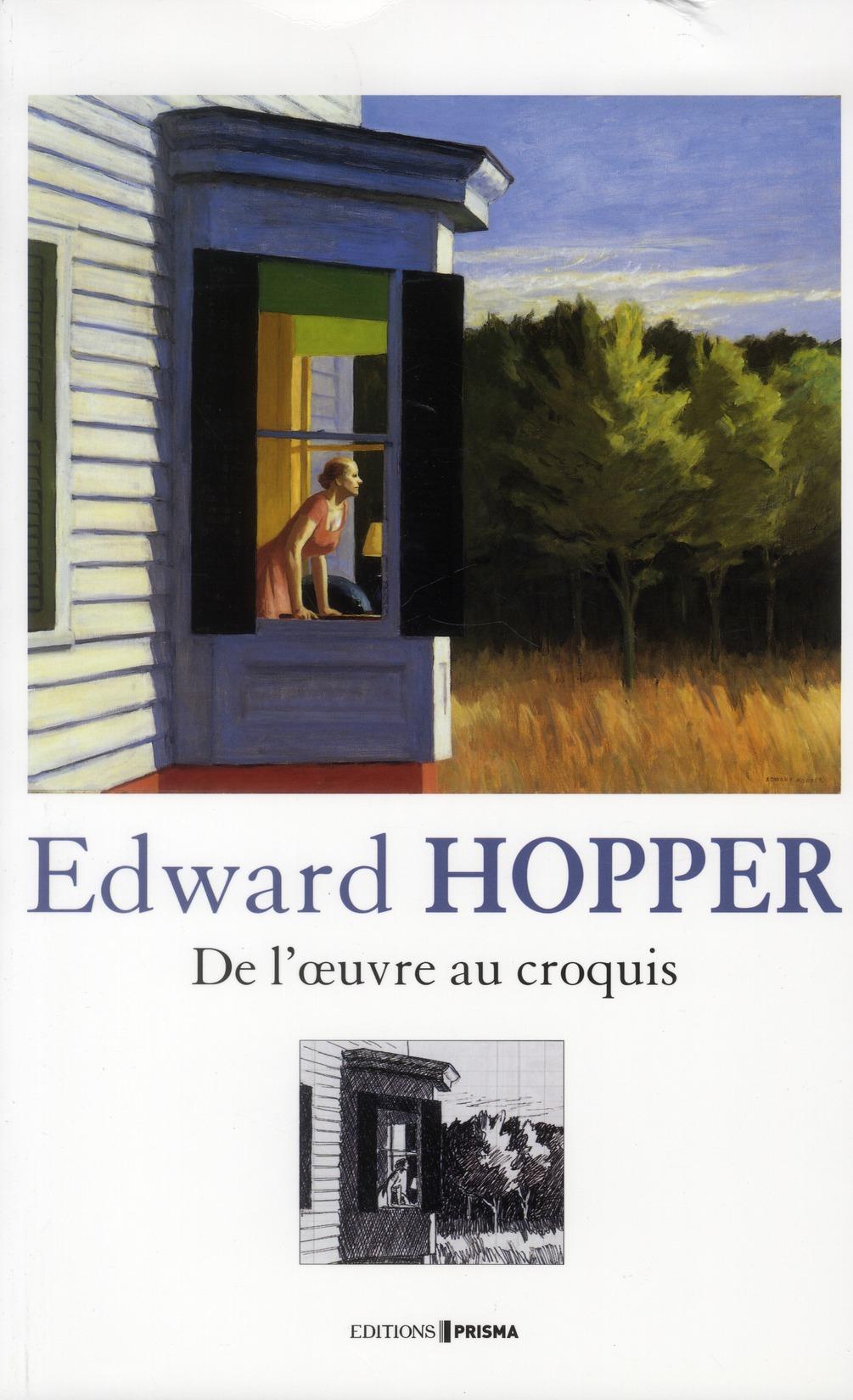 EDWARD HOPPER DE L'OEUVRE AU CROQUIS LYONS/O'DOHERTY FEMME ACTUELLE