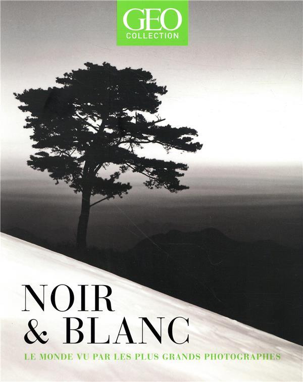 NOIR & BLANC - LE MONDE VU PAR LES PLUS GRANDS PHOTOGRAPHES - GEO COLLECTION COLLECTIF FEMME ACTUELLE