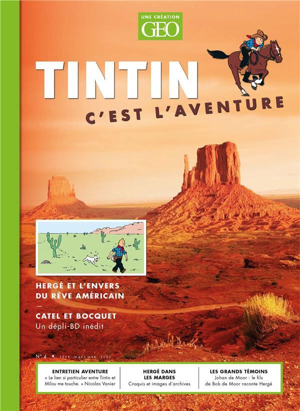 TINTIN, C'EST L'AVENTURE 4 COLLECTIF FEMME ACTUELLE