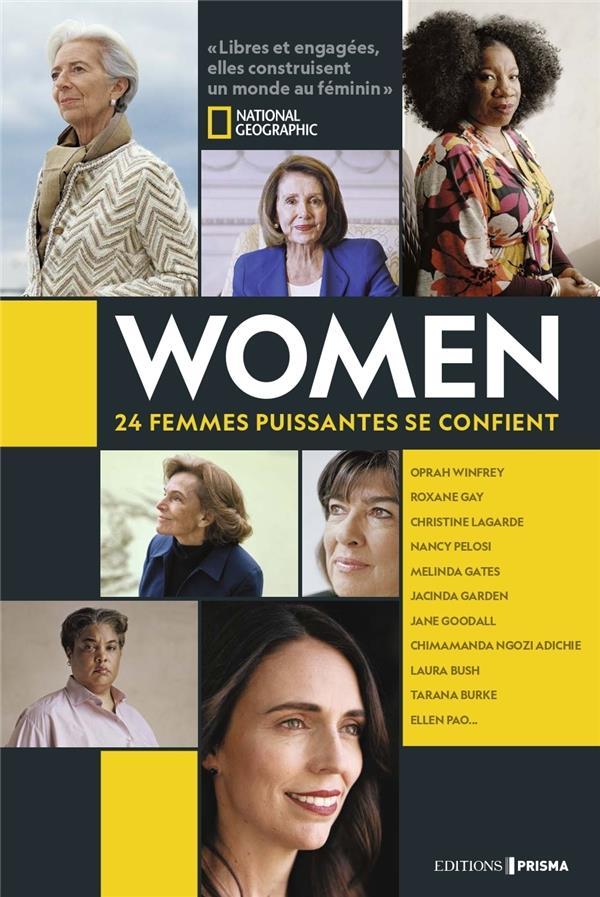 WOMEN  -  24 FEMMES PUISSANTES SE CONFIENT COLLECTIF FEMME ACTUELLE