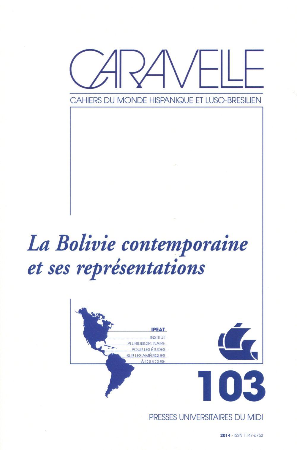 BOLIVIE CONTEMPORAINE ET SES REPRESENTATIONS