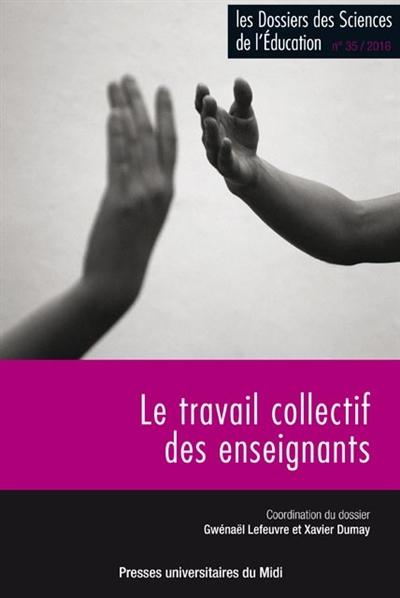 TRAVAIL COLLECTIF DES ENSEIGNANTS