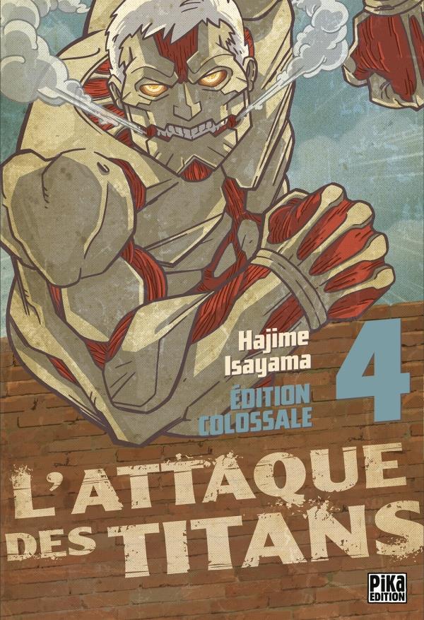 L'ATTAQUE DES TITANS  -  INTEGRALE VOL.4  -  T.10 A T.12 ISAYAMA, HAJIME Pika
