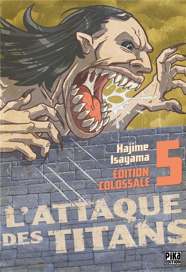 L'ATTAQUE DES TITANS  -  INTEGRALE VOL.5  -  T.13 A T.15 Isayama Hajime Pika