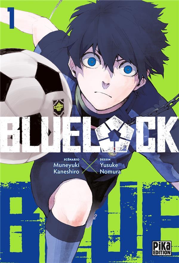 BLUE LOCK T.1 NOMURA/KANESHIRO PIKA