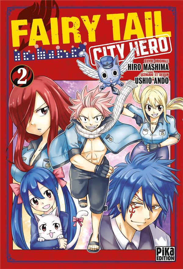 FAIRY TAIL - CITY HERO T.2 ANDO/MASHIMA PIKA