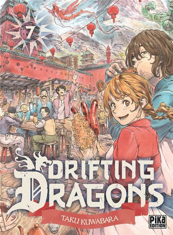 DRIFTING DRAGONS T.7 KUWABARA TAKU PIKA