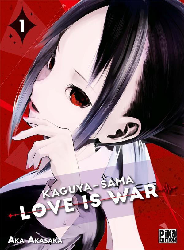 KAGUYA-SAMA : LOVE IS WAR T.1 AKASAKA AKA PIKA