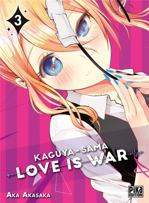 KAGUYA-SAMA : LOVE IS WAR T.3 AKASAKA AKA PIKA