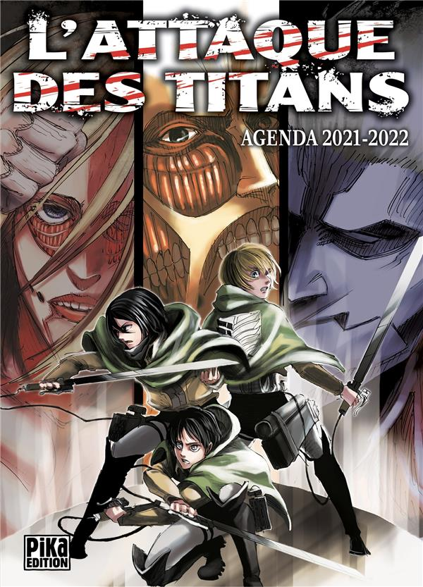 L'ATTAQUE DES TITANS  -  AGENDA (EDITION 20212022) ISAYAMA, HAJIME NC