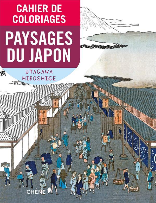 CAHIER DE COLORIAGES PAYSAGES DU JAPON  Chêne