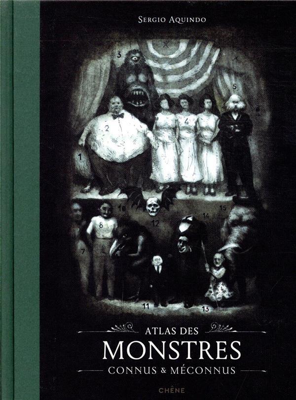 ATLAS DES MONSTRES CONNUS et MECONNUS