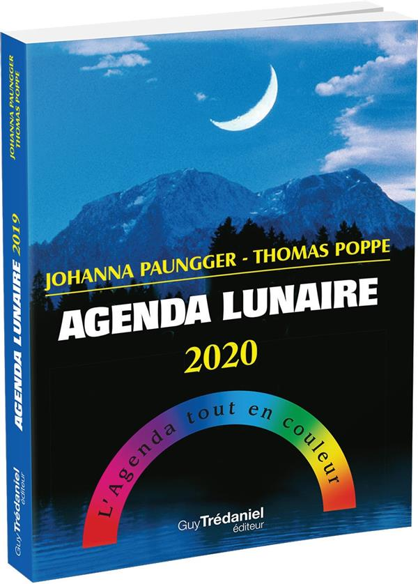 AGENDA LUNAIRE 2020  -  L'AGENDA TOUT EN COULEUR