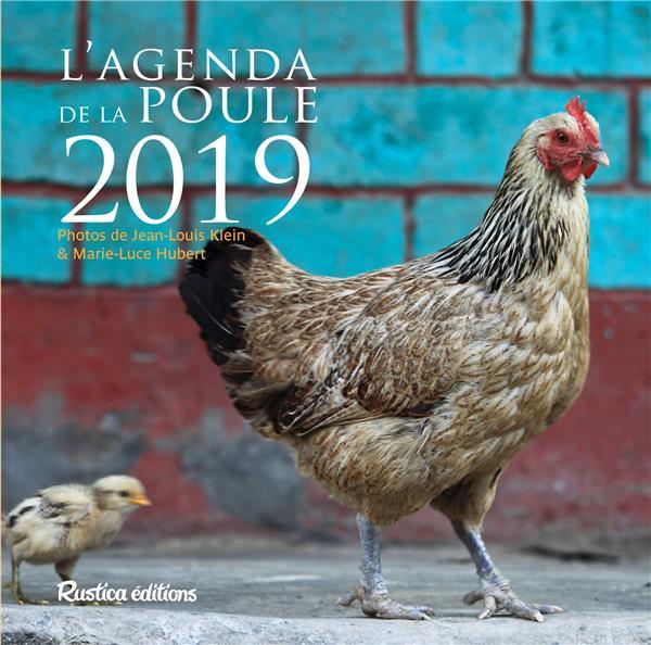 L'AGENDA DE LA POULE 2019 XXX RUSTICA