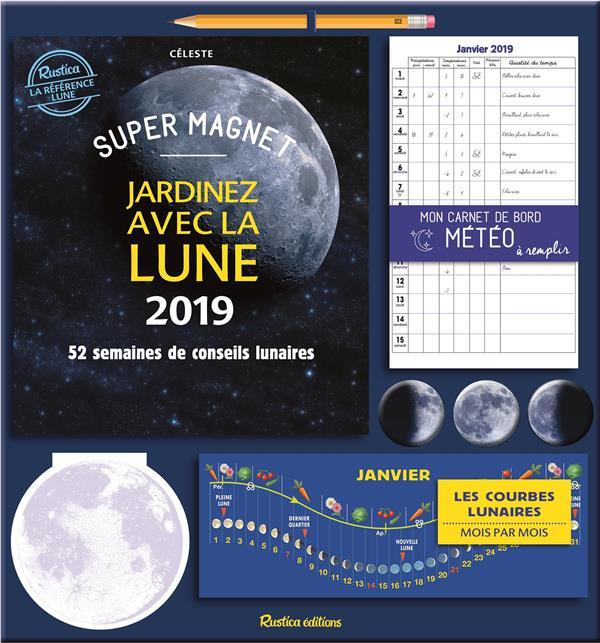 SUPER MAGNET JARDINEZ AVEC LA LUNE 2019  RUSTICA