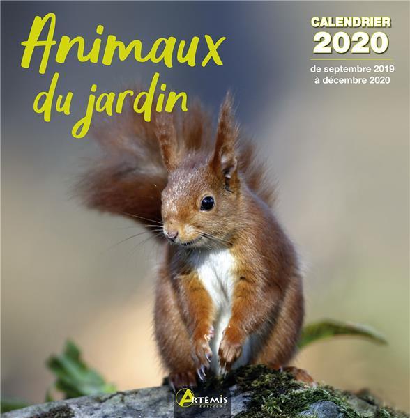 CALENDRIER ANIMAUX DU JARDIN ( COLLECTIF ARTEMIS