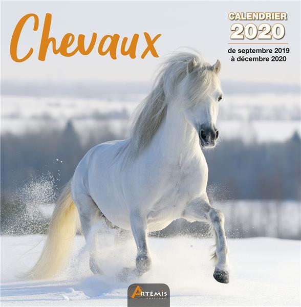 CALENDRIER CHEVAUX (2020) COLLECTIF ARTEMIS