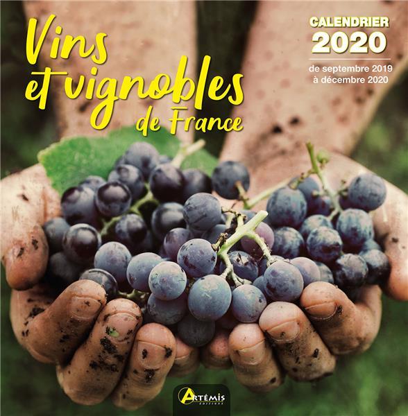CALENDRIER VINS ET VIGNOBLES DE FRANCE 2020 COLLECTIF Lgdj
