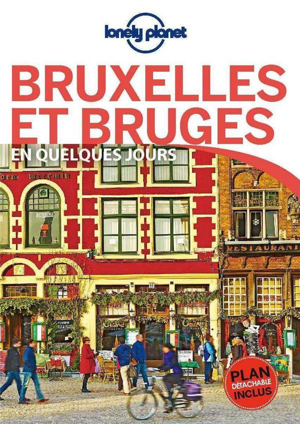 BRUXELLES ET BRUGES (4E EDITION) COLLECTIF LONELY PLANET