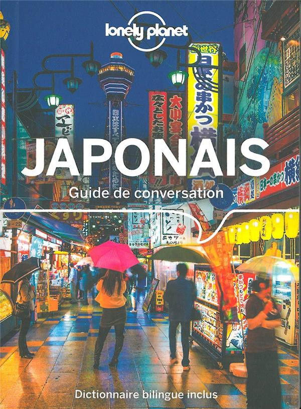 GUIDE DE CONVERSATION JAPONAIS COLLECTIF LONELY PLANET
