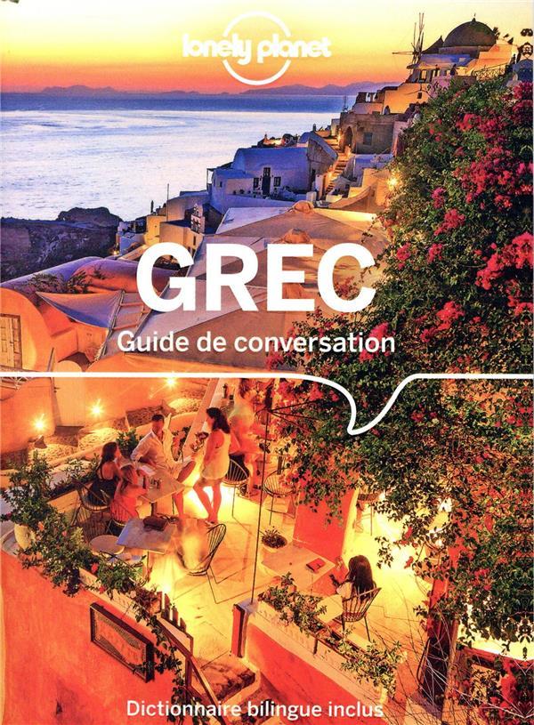 GUIDE DE CONVERSATION GREC 7ED  LONELY PLANET