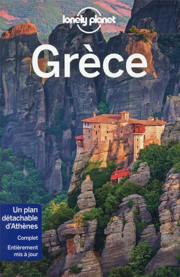 GRECE (4E EDITION) COLLECTIF LONELY PLANET