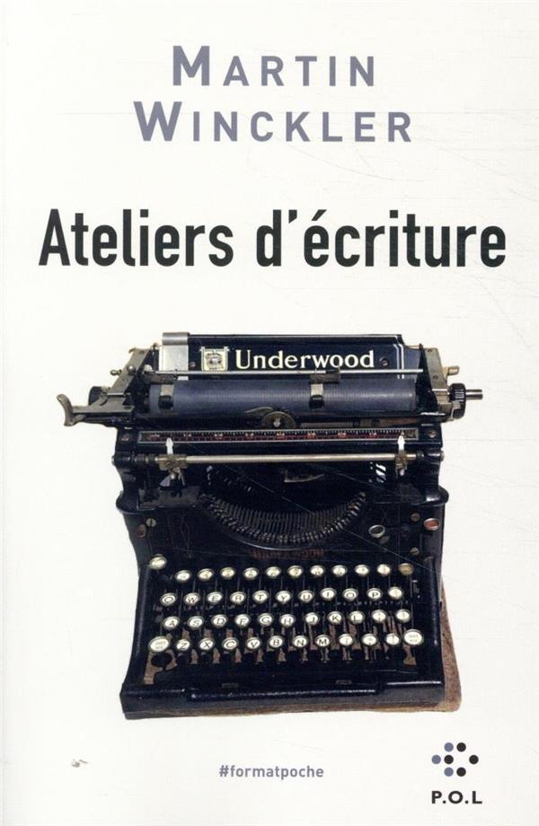 ATELIERS D'ECRITURE  -  DE L'EXPERIENCE A LA FICTION  -  HISTOIRES EN L'AIR WINCKLER MARTIN POL