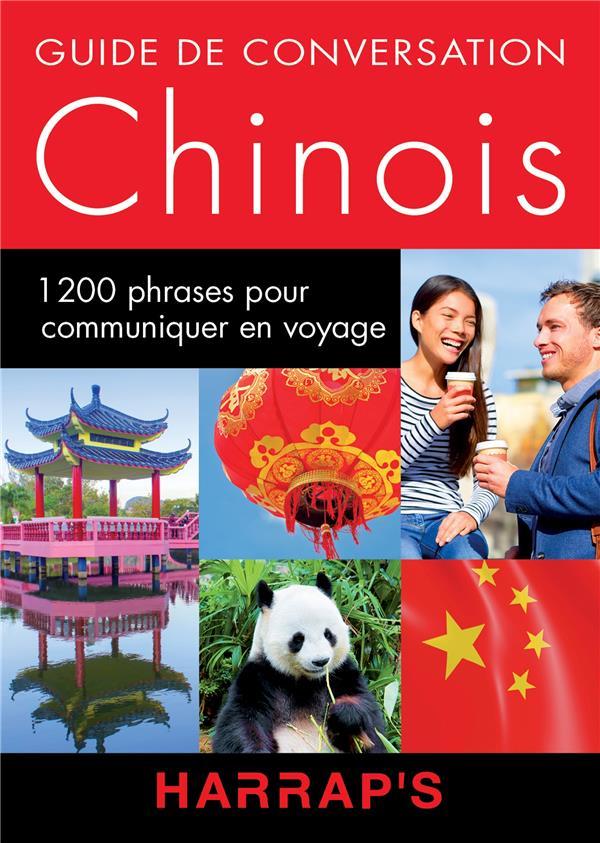 CHINOIS  -  GUIDE DE CONVERSATION XXX Harrap 's