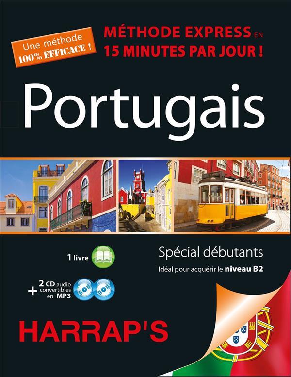 HARRAP'S METHODE EXPRESS PORTUGAIS 2 CD+LIVRE