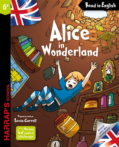 HARRAP'S ALICE IN WONDERLAND XXX Harrap 's