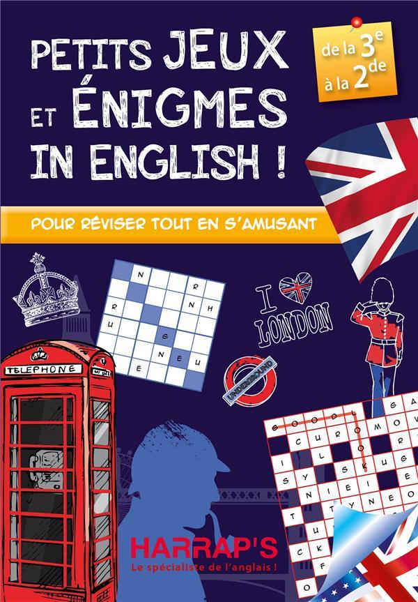 HARRAP S PETITS JEUX ET ENIGMES IN ENGLISH 3-2