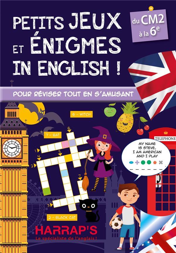 PETITS JEUX ET ENIGMES IN ENGLISH, SPECIAL CM-6E