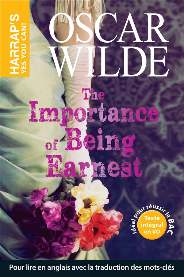 THE IMPORTANCE OF BEING EARNEST OSCAR WILDE LAROUSSE