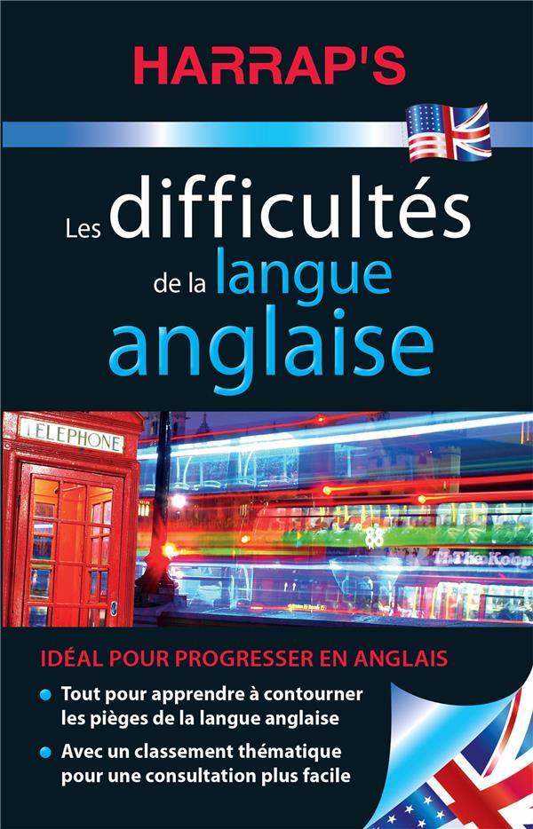 LES DIFFICULTES DE LA LANGUE ANGLAISE COLLECTIF LAROUSSE