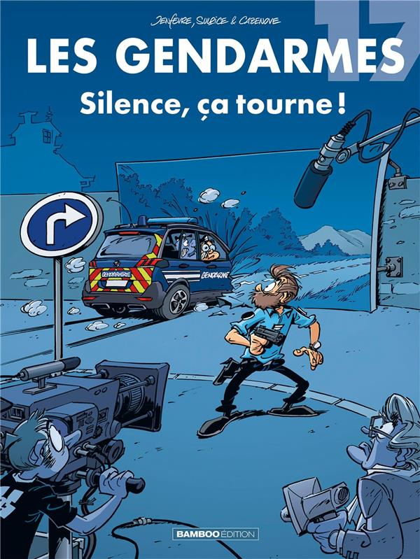 LES GENDARMES T.17  -  SILENCE, CA TOURNE !