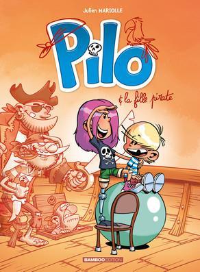 PILO T.4  -  PILO ET LA FILLE PIRATE