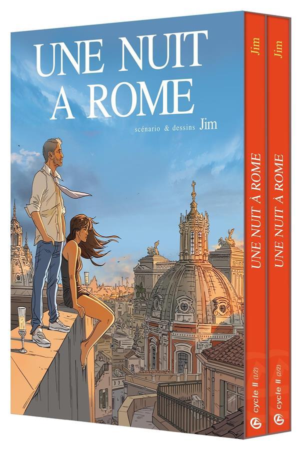 UNE NUIT A ROME  -  COFFRET VOL.2  -  T.3 ET T.4 JIM BAMBOO