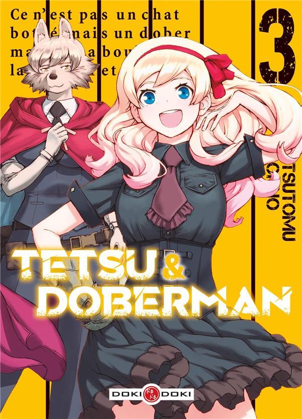 TETSU & DOBERMAN - T03 - TETSU & DOBERMAN - VOL. 03 OHNO, TSUTOMU BAMBOO