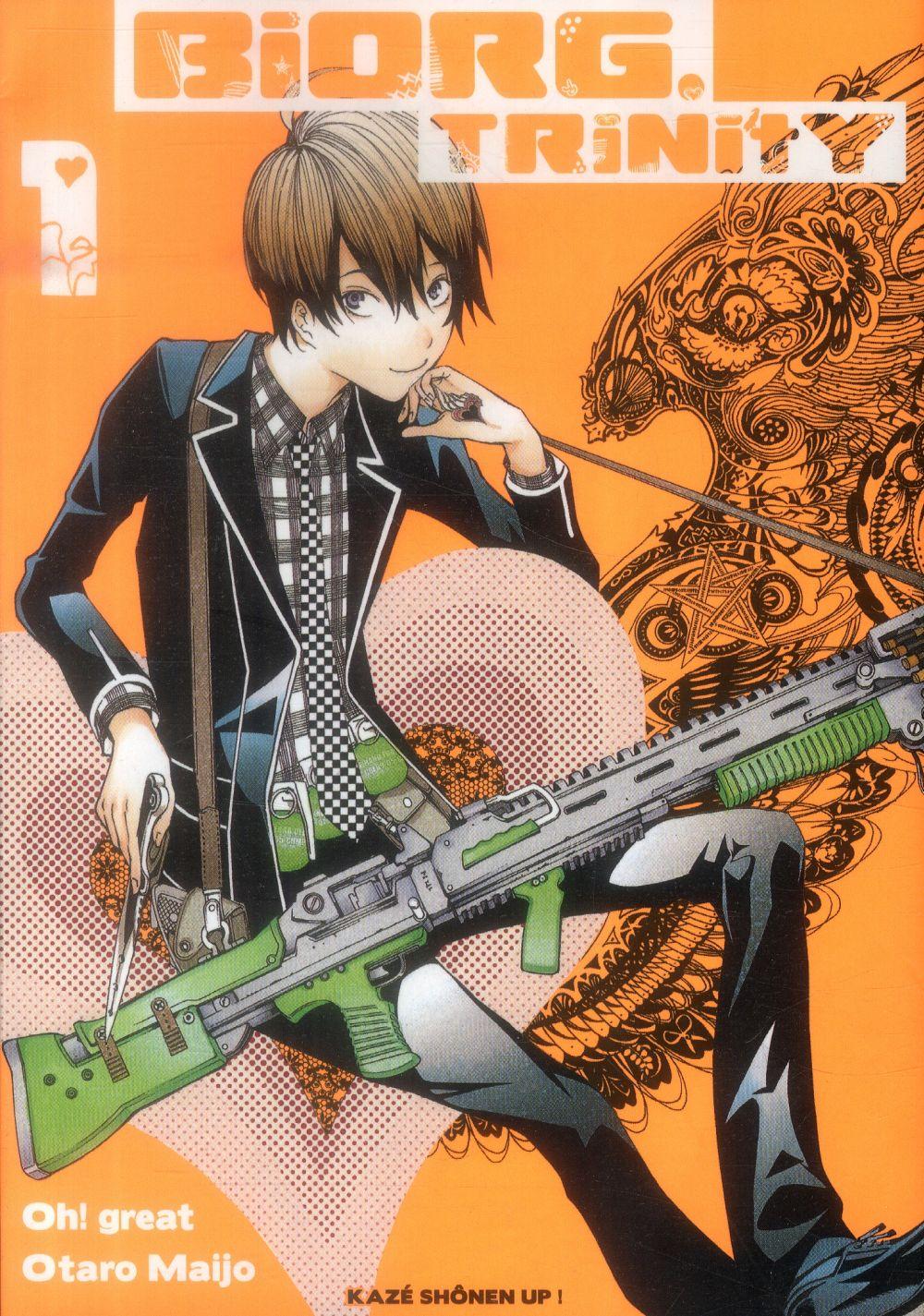 BIORG TRINITY T01 Maijo Otaro Kaze Manga