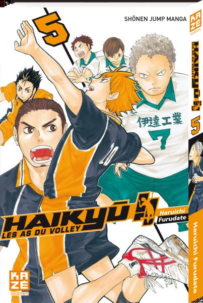 HAIKYU !! - LES AS DU VOLLEY T05 Furudate Haruichi Kaze Manga