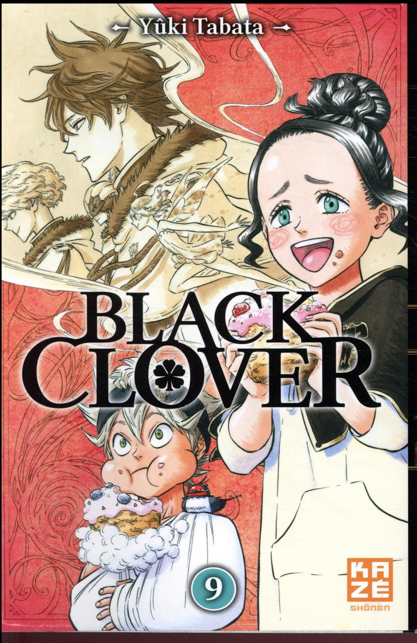 BLACK CLOVER T09 TABATA YUKI Kaze Manga