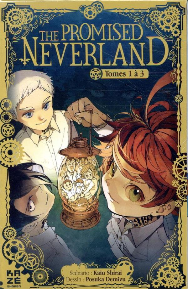 THE PROMISED NEVERLAND  -  COFFRET VOL.1  -  T.1 A T.3