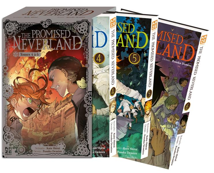 THE PROMISED NEVERLAND  -  COFFRET VOL.2  -  T.4 A T.6