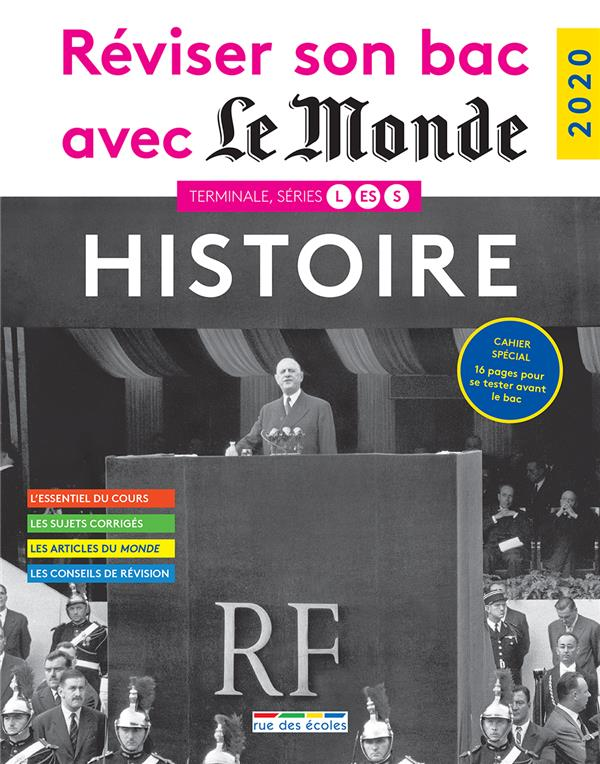 REVISER SON BAC AVEC LE MONDE 2020 HISTOIRE