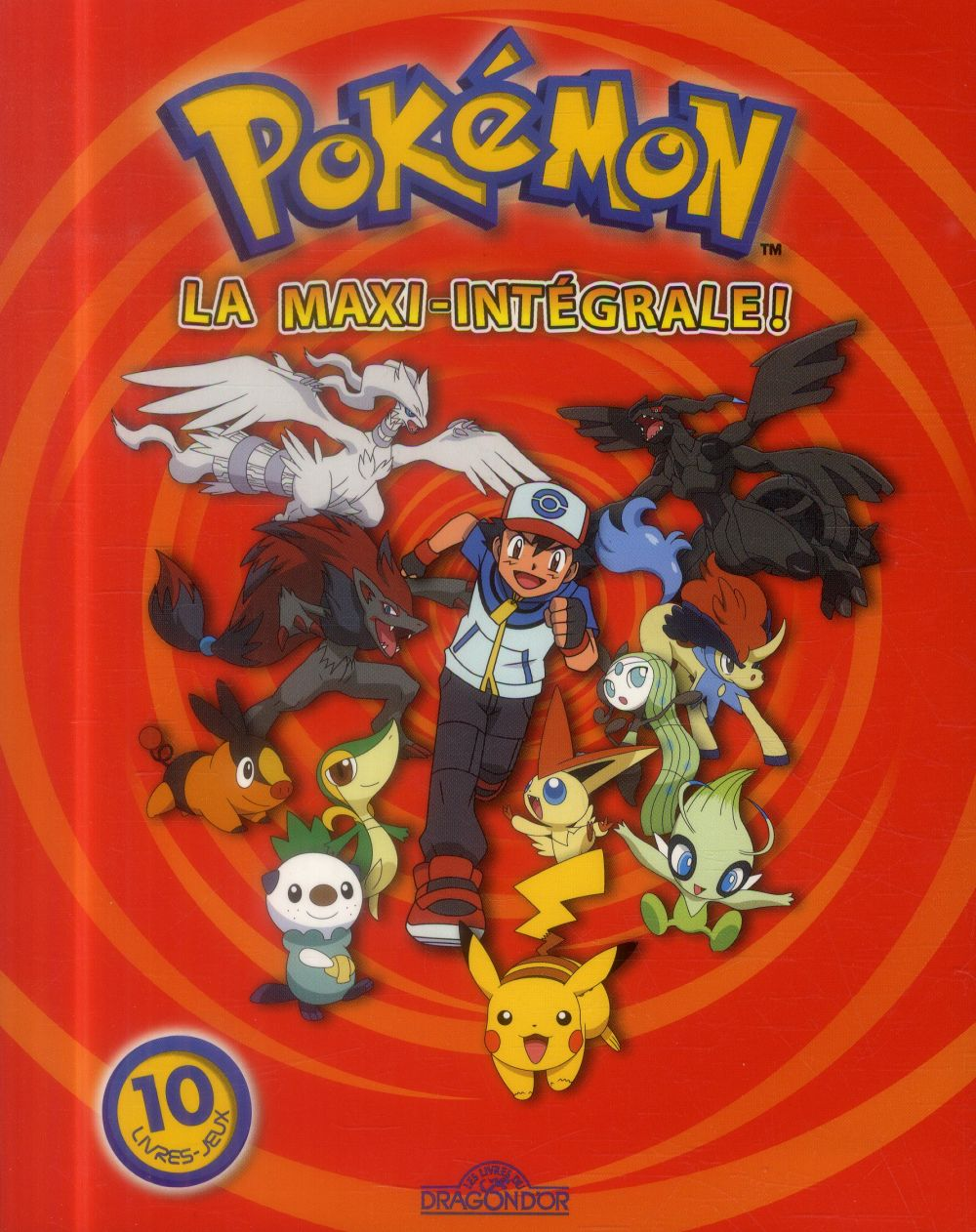 POKEMON - LA MAXI-INTEGRALE !  Livres du Dragon d'or