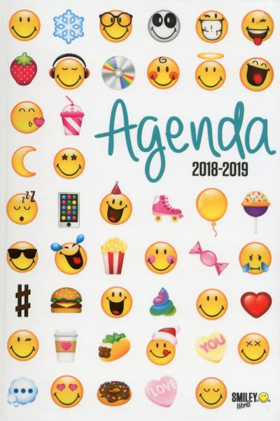 SMILEY - AGENDA EMOTICONES 2018-2019  Lgdj