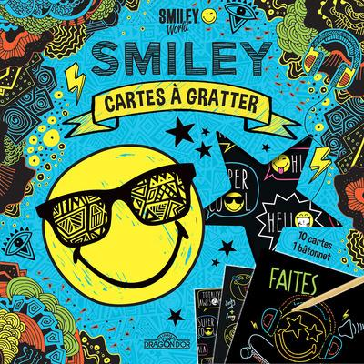 SMILEY - CARTES A GRATTER - COOL