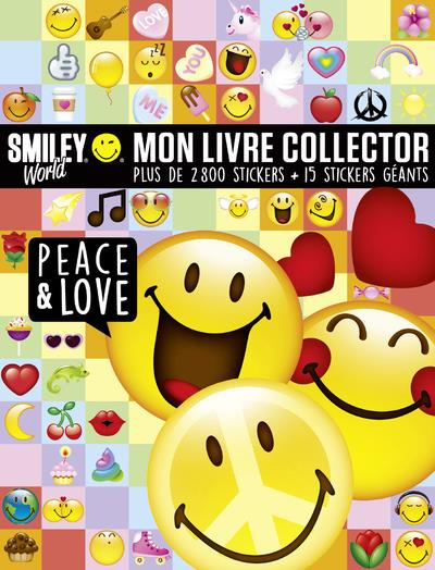 SMILEY - MON LIVRE COLLECTOR PEACE & LOVE  DRAGON D'OR