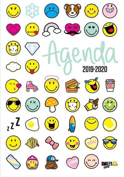 SMILEY - AGENDA EMOTICONES 2019-2020  Lgdj